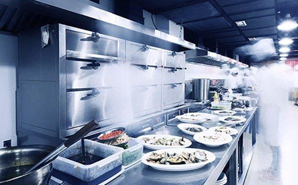 Travlt køkken med fiskeretter Nordfra