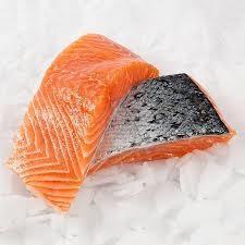 Fisk Lakseportioner med skind 2 kg